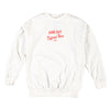 Different Wave Crew Fleece (White)