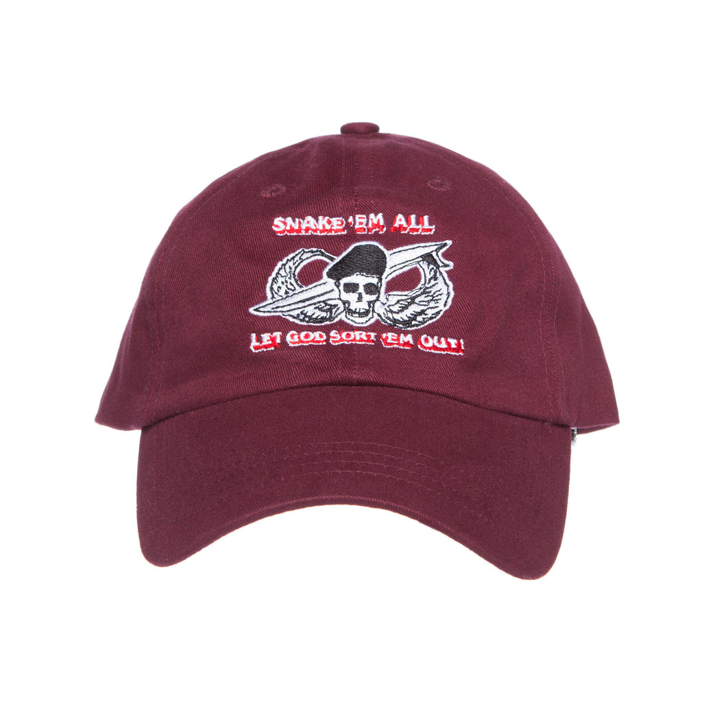 Snake Em All Hat (Panama Red)