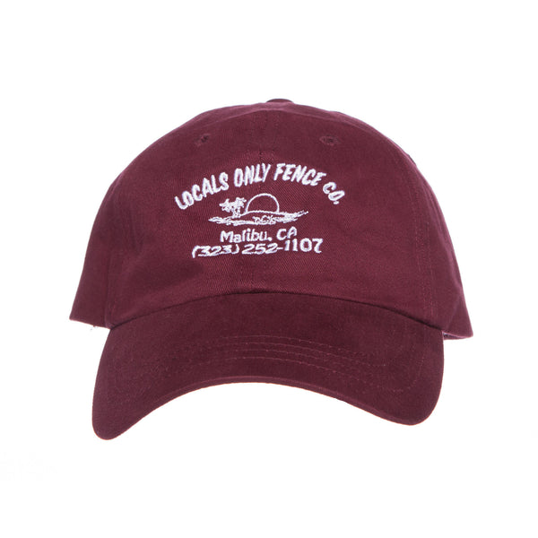 Locals Only Fence Co Hat (Panama Red)