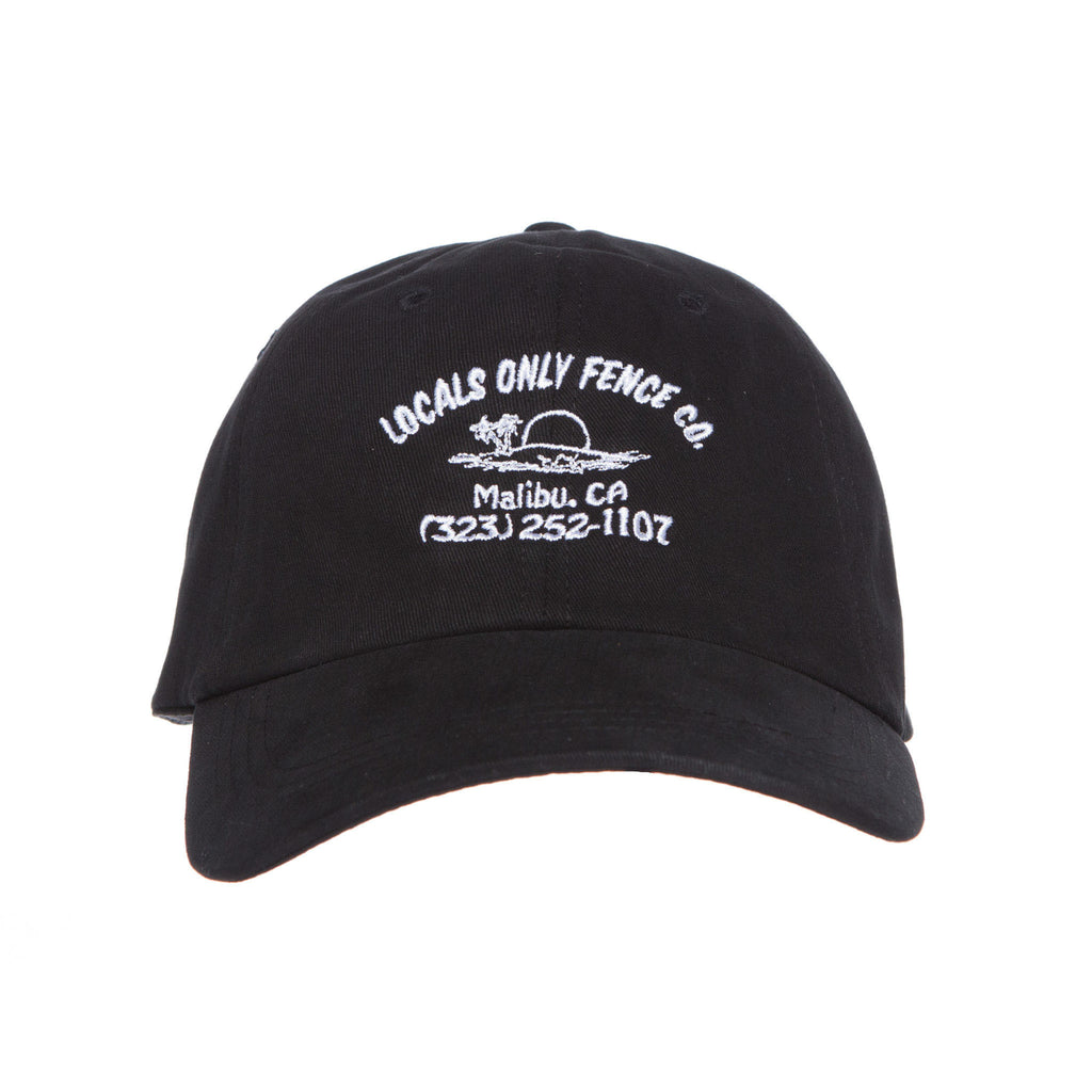 Locals Only Fence Co Hat (Charcoal)