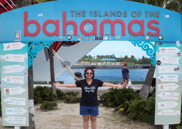 Rosie Livin' Life in the Bahamas!
