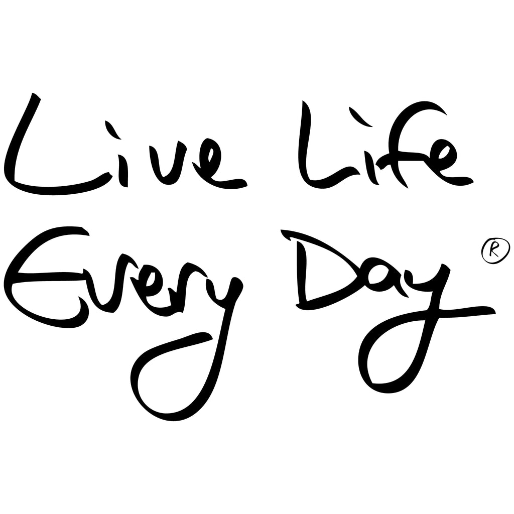 Logo Tank Top - Live Life Every Day