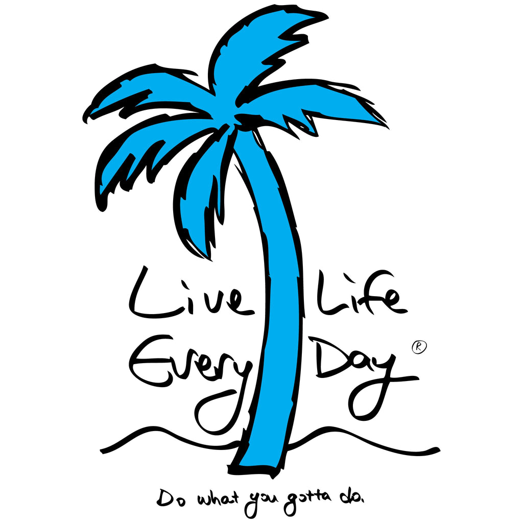Logo Tee - Live Life Every Day