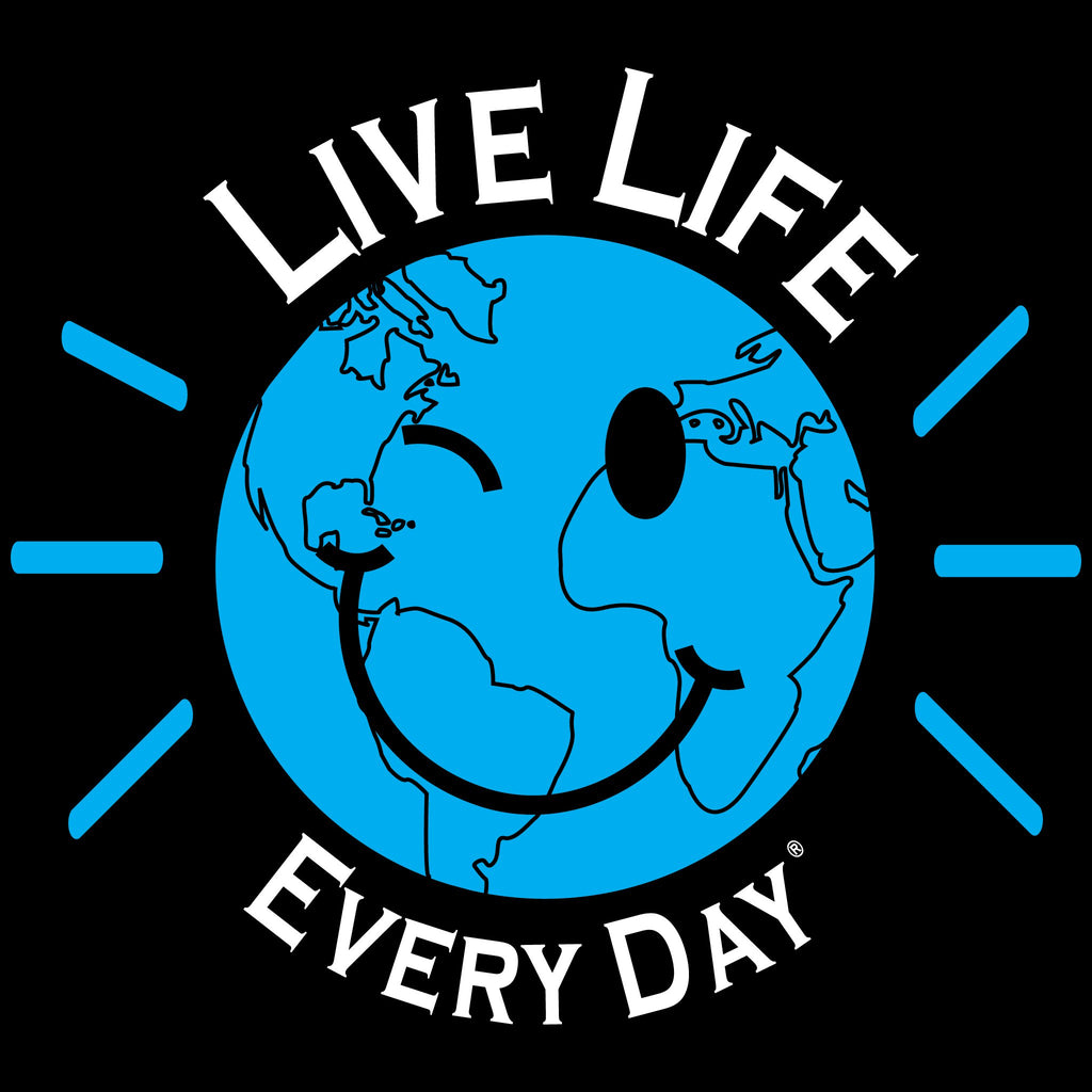 Live Life Every Day Smile Front Design
