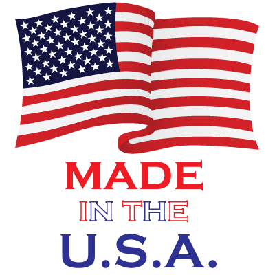 Proudly Made in the U.S.A.!