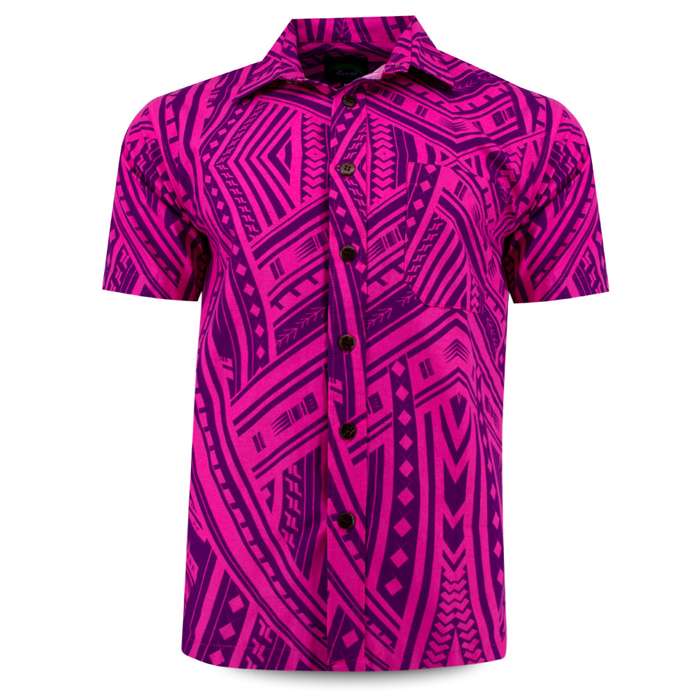 Eveni Pacific Men's Classic Shirt - Bodacious Purple