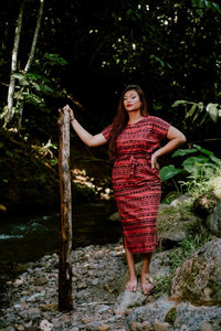 Eveni Pacific Ladies Kendall Maxi Dress - Chocolate Gold