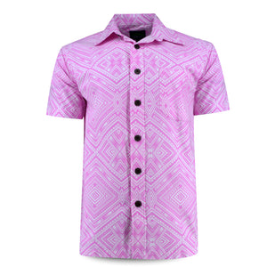 Eveni Pacific Men's Classic Shirt - Kona Pink