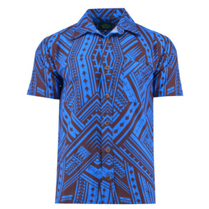 Eveni Pacific Men's Classic Shirt - Canoe Blue