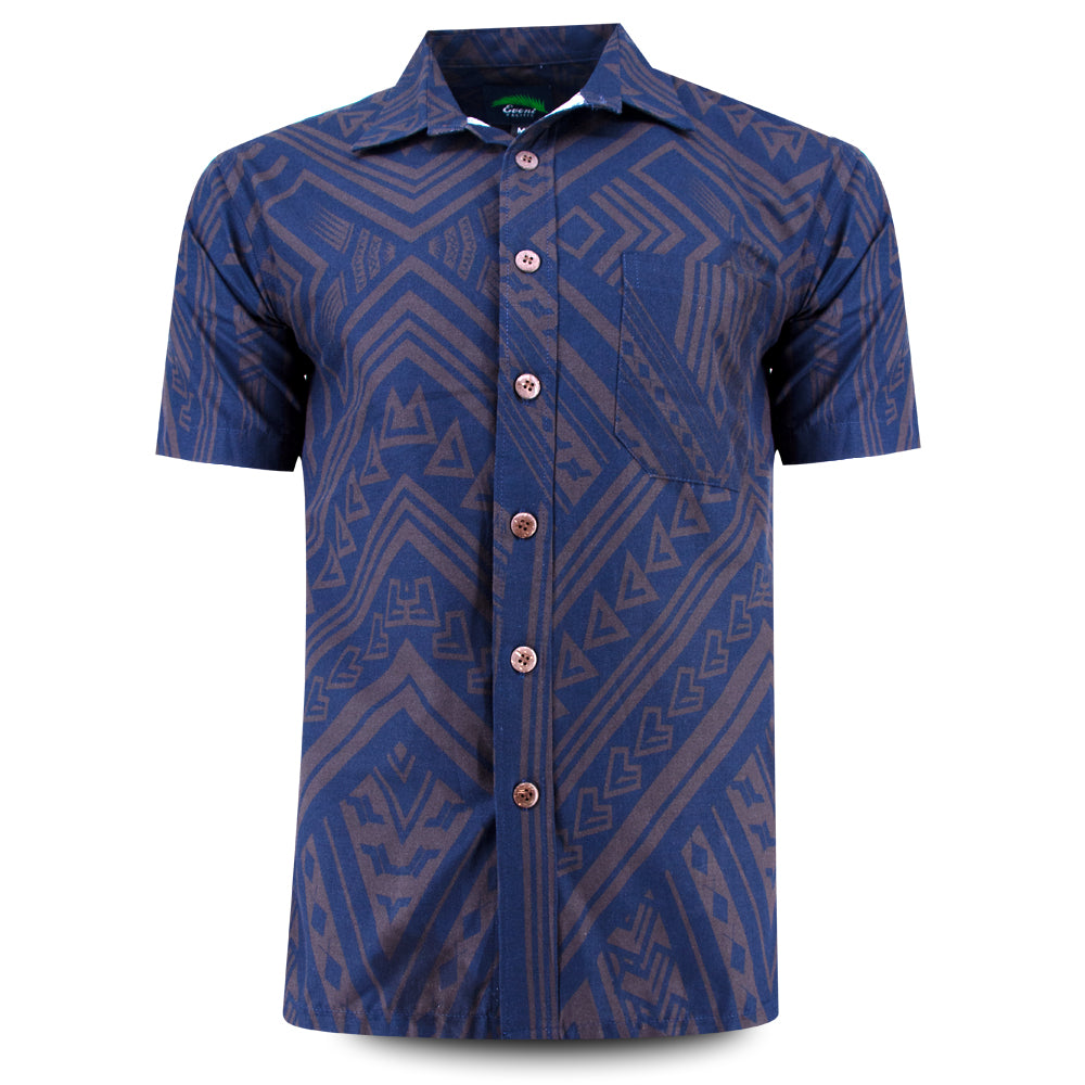 Eveni Pacific Men's Classic Shirt - Duke Blue