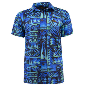 Koko Pacific Premium Custom Shirt - MINT BOLT