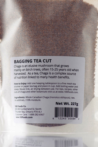 Chaga Bagging Tea Cut 180 Foods 90g Back
