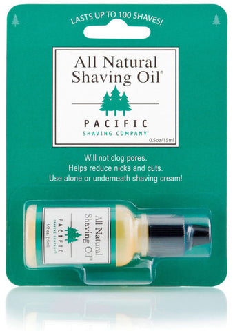 Pacific Shaving Company All Natural Shaving Oil - 15 ml