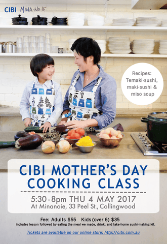 CIBI Mother's Day cooking class