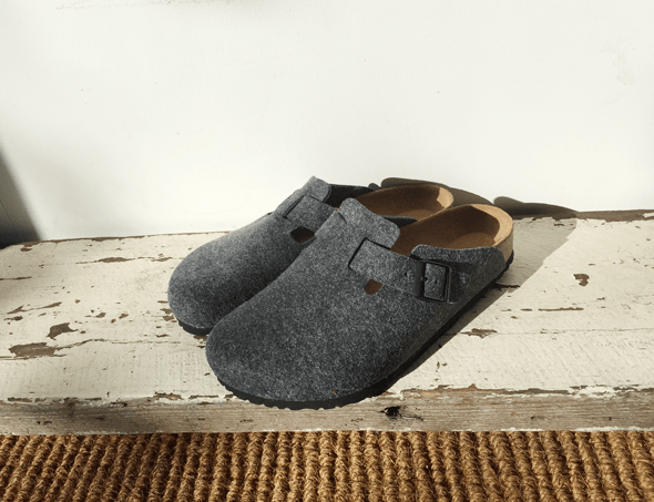 Birkenstock Boston FELT grey