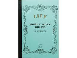 LIFE B6 Notebook Blue