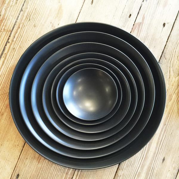 Waen Plate Matt Black