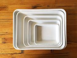 White Tray Large