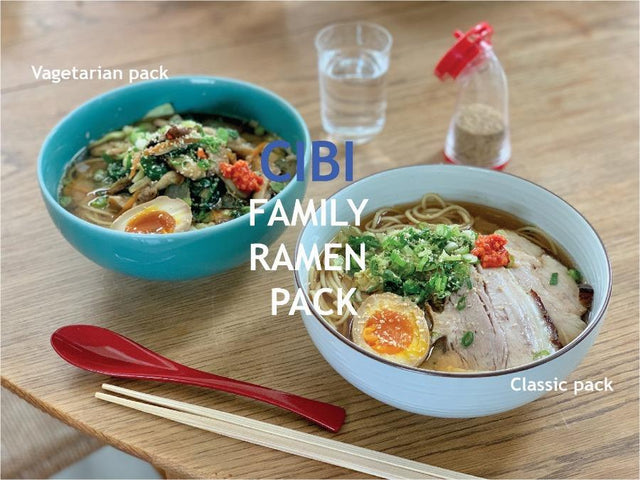 SAT -Pickup CIBI Family Ramen Pack - Ramen for two OR Ramen for Family of 5