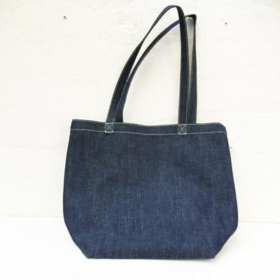 CIBI - Denim tote bag