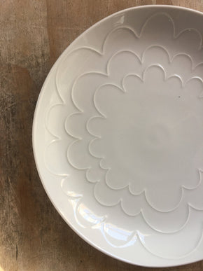 CIBI Shell flower platter