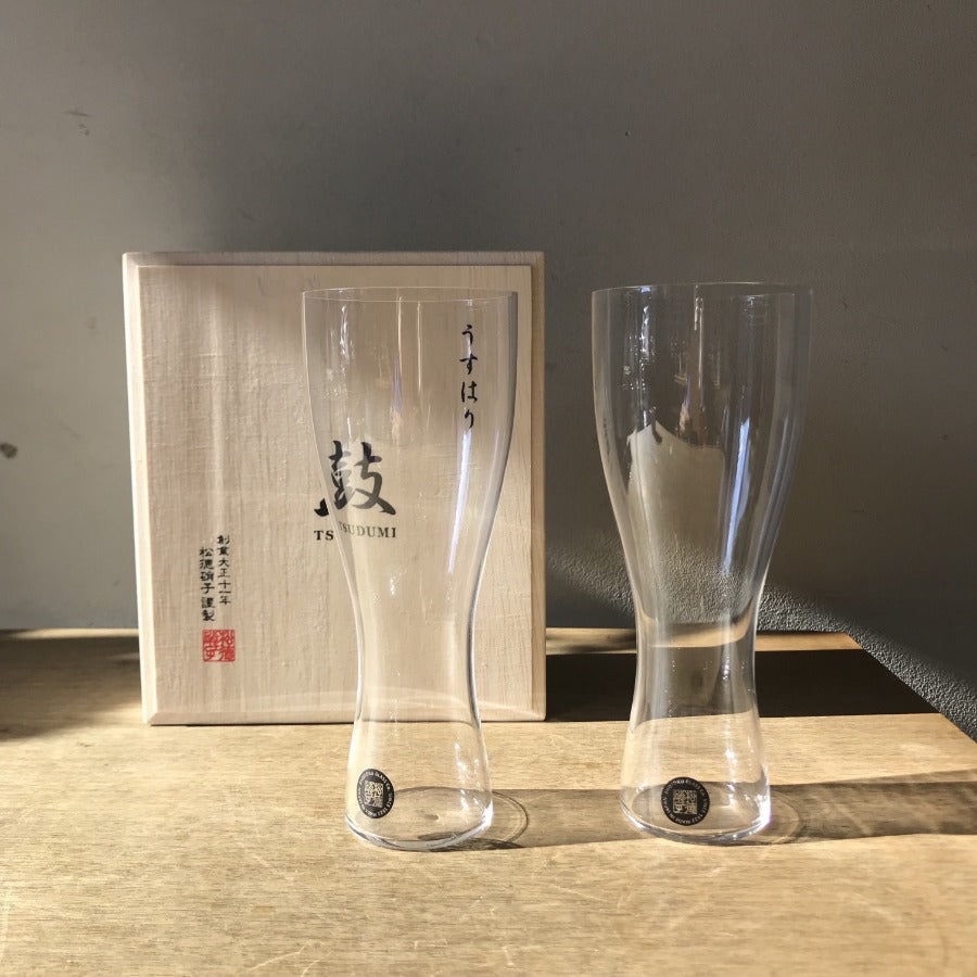 Shotoku Glass - Beer glass set (2pcs)