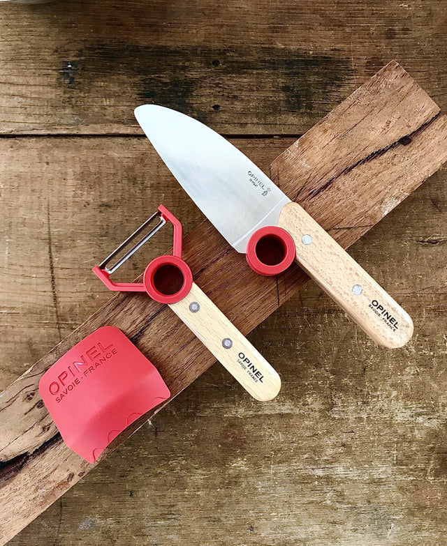OPINEL 'Le Petit Chef' Knife & Peeler