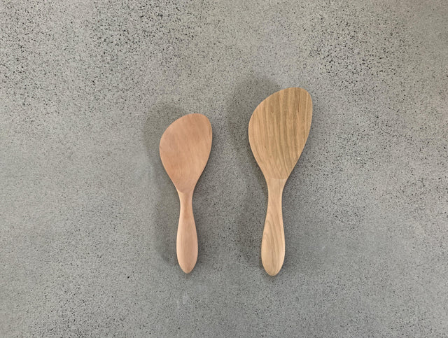 Miyajima Wooden Shamoji Rice Scoop (Curve)