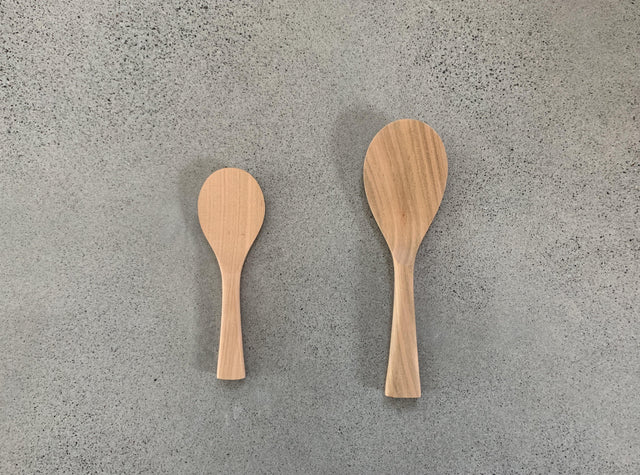 Miyajima Wooden Shamoji Rice Scoop (Round)
