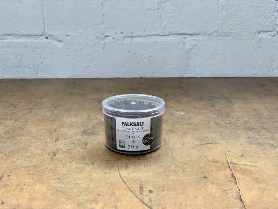Falksalt Flake salt Black 70g