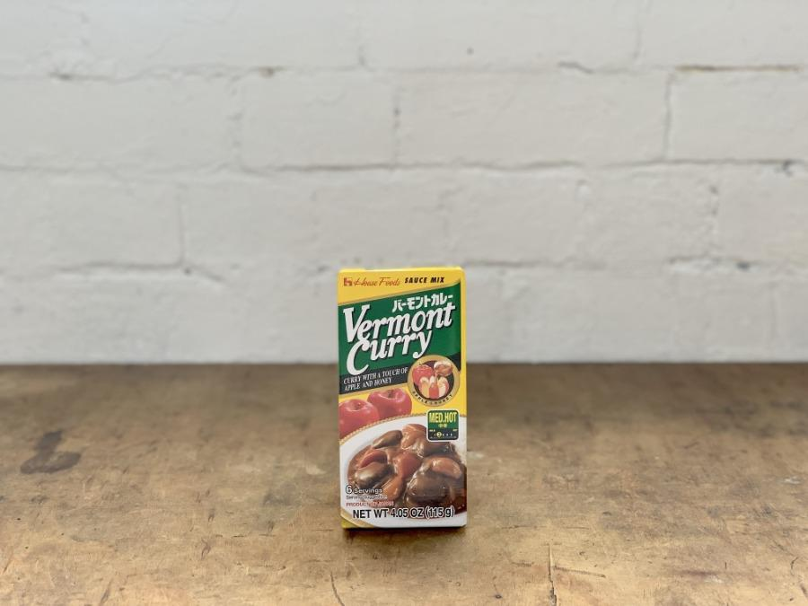 Vermont Curry: Japanese Curry sauce mix 115g Mild or Medium