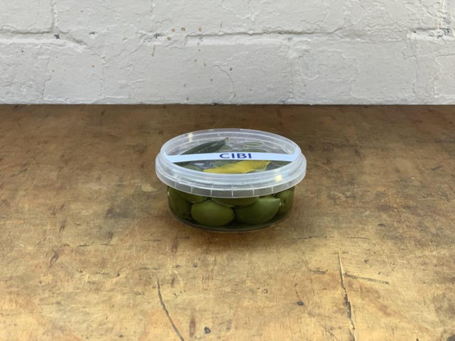 -PICKUP - Sicillian green olives - CIBI CIBI Grocery