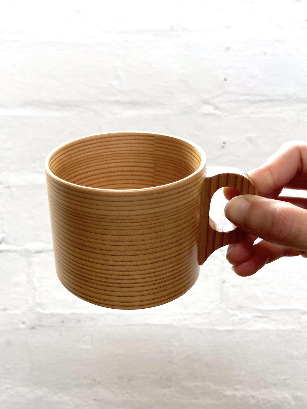 Magewappa Wooden Cup & Saucer