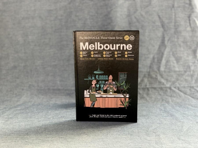 Book MONOCLE Travel Guide Melbourne CIBI