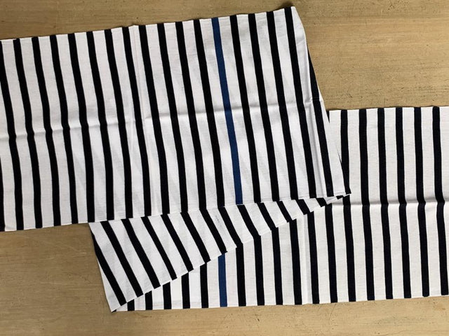 CIBI kamawanu stripes white dark blue