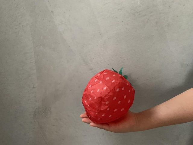 Paper balloon Strawberry - CIBI Isono Paper balloon