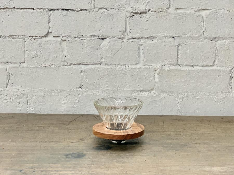 CIBI HARIO V60 Wood and Glass coffee dripper