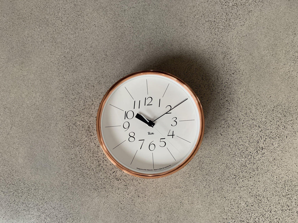 Riki Copper Clock