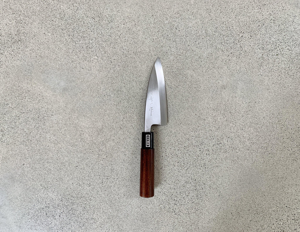 MUJUN Deba knife 120mm Cleaver knife ( S55-J )
