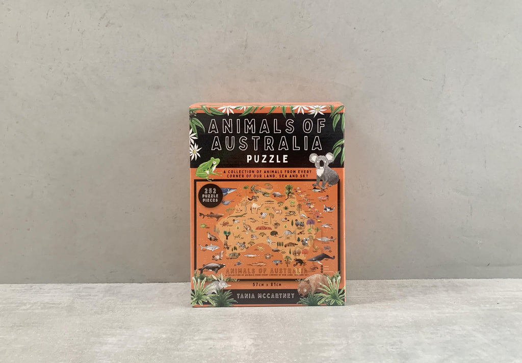 Puzzles - Animals of Australia 252 pieces puzzle - CIBI BOOKS