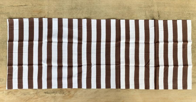 stripe brown tenugui CIBI