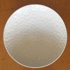 Kanna bori plate Large Moon pattern