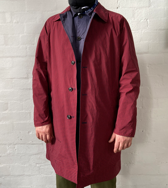 Nanamica Coat Red CIBI