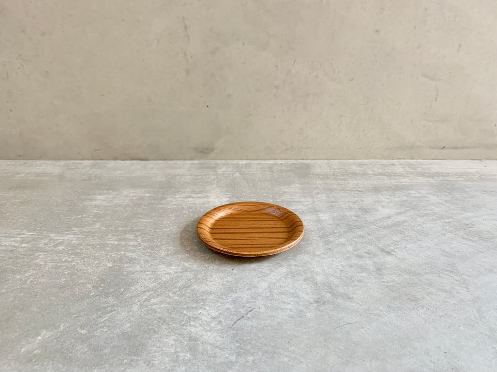 Wooden coaster (made in Japan) by Saito Wood