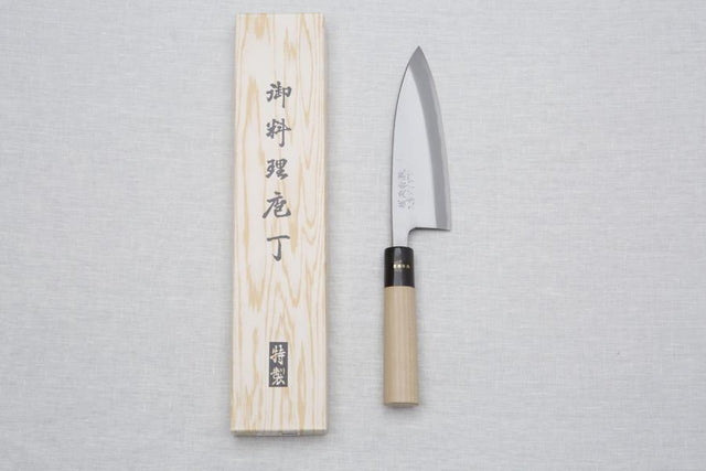 Knife Deba Hocho Kitchen Cleaver - CIBI Kobo Aizawa
