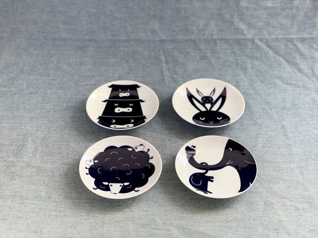KOMON Small Plate Animal