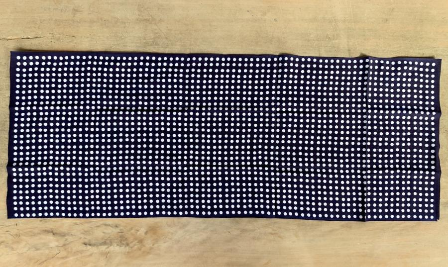 Tenugui(C)- Dot White in Navy
