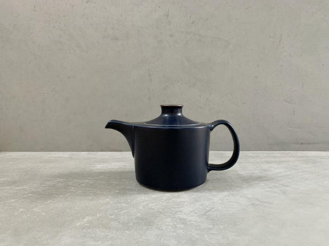 Navy Tea Pot