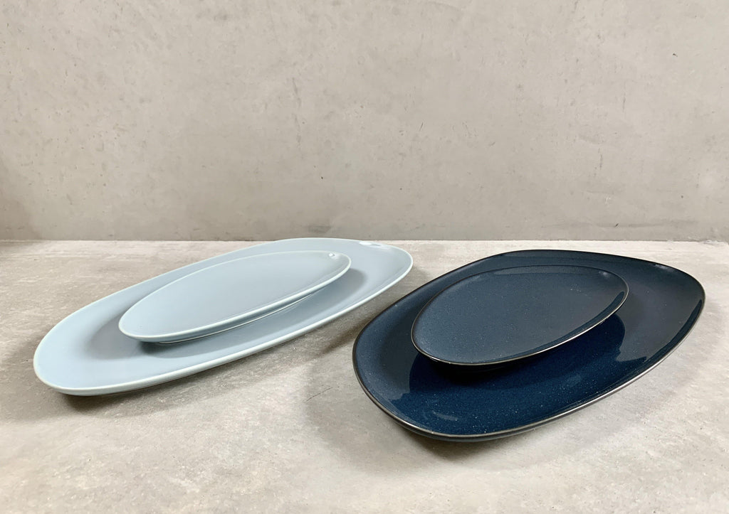 Petra Long Platter (L) Navy or Grey