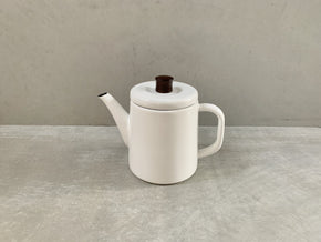 Pottle White - Enamel kettle - CIBI